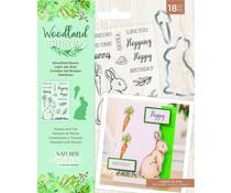 Crafter's Companion Woodland Friends Stamp & Die Woodland Bunny (NG-WFR-STD-WBUN)