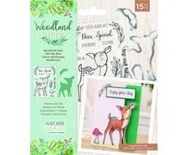 Crafter's Companion Woodland Friends Stamp & Die Woodland Deer (NG-WFR-STD-WDEE)