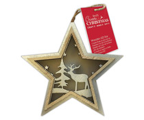 Papermania Create Christmas Wooden LED Star Stag Trees (PMA 105991)