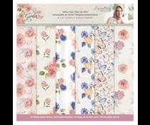 Crafter's Companion Rose Garden 6x6 Inch Vellum Pad (S-RGA-VELPAD6)
