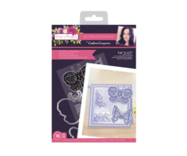Crafter's Companion Butterflies and Blooms Stamp & Die Butterfly Friendship (SCC-AF-BB-STD-BF)