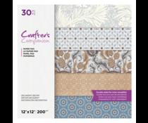 Crafter's Companion Decadent Decor 12x12 Inch Paper Pad (CC-PAD12-DDEC-30)