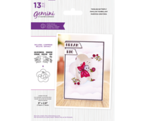 Gemini Twirling Butterfly Stamp & Die (GEM-STD-TWIRLBY)