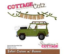 Scrapping Cottage Safari Cruiser w/ Banner (CC-837)