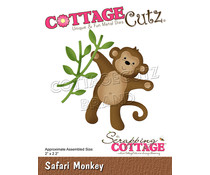 Scrapping Cottage Safari Monkey (CC-846)