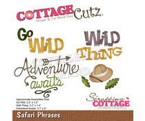 Scrapping Cottage Safari Phrases (CC-848)