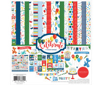 Carta Bella Let's Celebrate 12x12 Inch Collection Kit (CBCB129016)