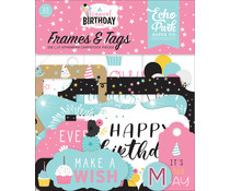 Echo Park Magical Birthday Girl Frames & Tags (MBG231025)