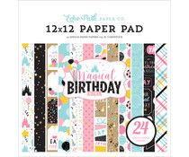 Echo Park Magical Birthday Girl 12X12 Inch Paper Pad (MBG231030)