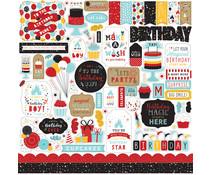 Echo Park Magical Birthday Boy 12x12 Inch Element Sticker (MBB232014)