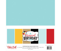 Echo Park Magical Birthday Boy 12x12 Inch Coordinating Solids Paper Pack (MBB232015)