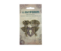 Mitform Flowers 1 Metal Embellishments (MITS058)