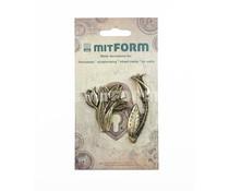 Mitform Flowers 2 Metal Embellishments (MITS059)