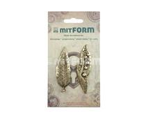 Mitform Flowers 4 Metal Embellishments (MITS061)