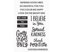 My Favorite Things Good Vibes Only Clear Stamps (CS-531)