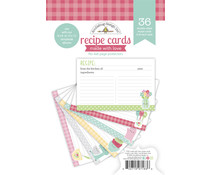 Doodlebug Design Made With Love Recipe Cards (7163)