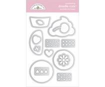 Doodlebug Design You Bake Me Happy Doodle Cuts (7107)