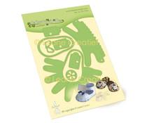 Leane Creatief Lea'bilitie Baby Shoe Slipper Cutting Dies (45.7262)