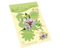 Leane Creatief Lea'bilitie Passion Flower Multi Cut & Embossing Dies (45.7279)