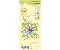 Leane Creatief Passion Flower 3D Clear Stamps (55.7354)