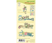 Leane Creatief Sewing, Knitting & Crochet Clear Stamps (55.7286)