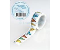 Leane Creatief Washi Tape Flags (61.7125)