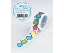 Leane Creatief Washi Tape Small Round Labels (61.7156)