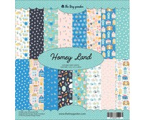 The Tiny Garden Homey Land 12x12 Inch Paper Pack (TTG002)