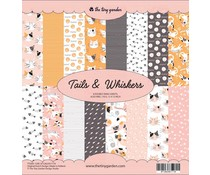 The Tiny Garden Tails & Whiskers 12x12 Inch Paper Pack (TTG001)