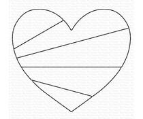 My Favorite Things Heart Rays Die-namics (MFT-1912)