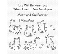 My Favorite Things Mini Meows Clear Stamps (CS-533)