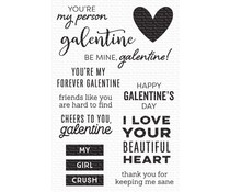 My Favorite Things My Galentine Clear Stamps (CS-538)