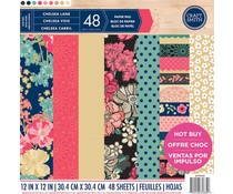 Craft Smith Chelsea Lane 12x12 Inch Paper Pad (MPP0068)