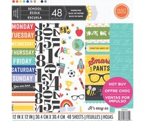 Craft Smith School 12x12 Inch Paper Pad (MPP0059)