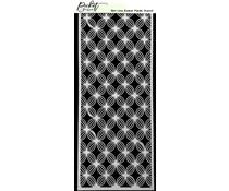 Picket Fence Studios Slim Line Basket Petals 4x10 Inch Stencils (SC-215)