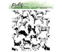 Picket Fence Studios This Dog Is For You 4x4 Inch Clear Stamps (A-148)