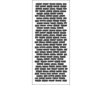 The Crafter's Workshop Bricks Vertical Slimline Stencil (TCW2304)