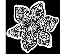 The Crafter's Workshop Trumpet Daffodil 6x6 Inch Stencil (TCW928s)