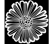 The Crafter's Workshop Felicia Daisy 6x6 Inch Stencil (TCW929s)