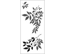 The Crafter's Workshop Gentle Leaves Slimline Stencil (TCW2300)
