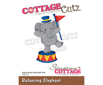 Scrapping Cottage Balancing Elephant (CC-853)