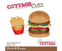 Scrapping Cottage Build-A-Burger (CC-854)