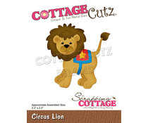 Scrapping Cottage Circus Lion (CC-855)