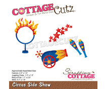 Scrapping Cottage Circus Side Show (CC-857)