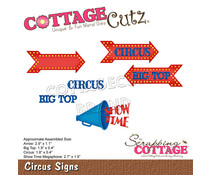 Scrapping Cottage Circus Signs (CC-858)