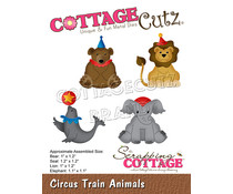 Scrapping Cottage Circus Train Animals (CC-862)