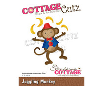 Scrapping Cottage Juggling Monkey (CC-865)