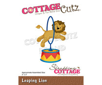 Scrapping Cottage Leaping Lion (CC-866)