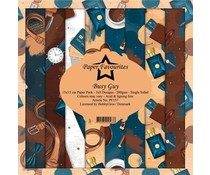 Paper Favourites Busy Guy 6x6 Inch Paper Pack (PF157)