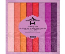 Paper Favourites Wood Grain 6x6 Inch Paper Pack (PF159)